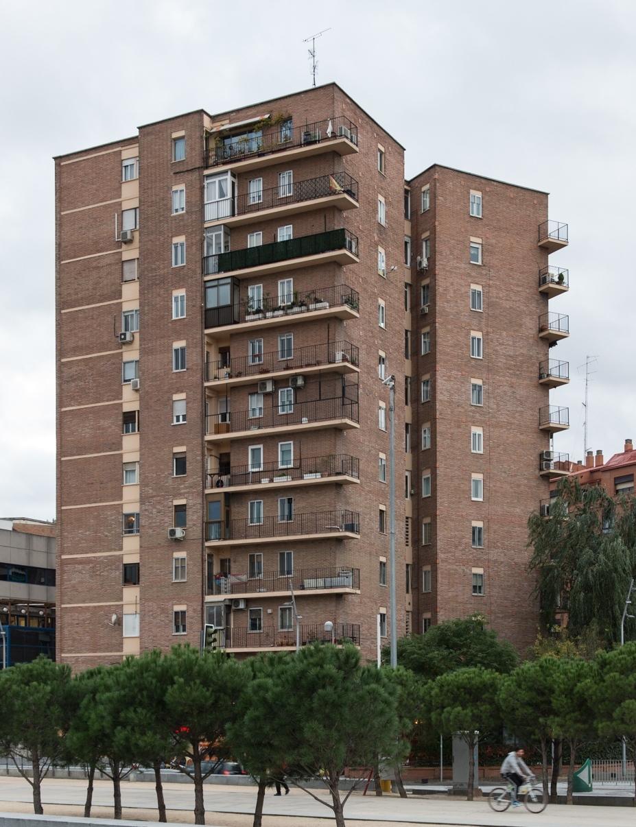 Rehabilitación energética en Madrid Río